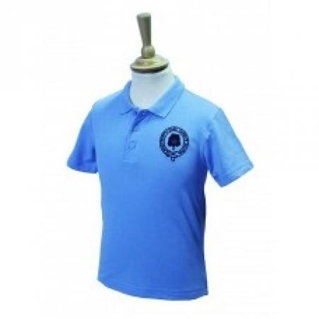 Brinkworth Earl Danby Sky Polo Shirt