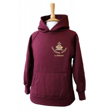 Cardiff Cathedral Junior Hooded Top