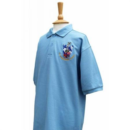 Commonweal Boys Summer Blue Polo Shirt