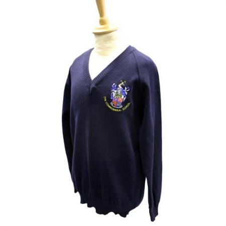 Commonweal Navy Pullover