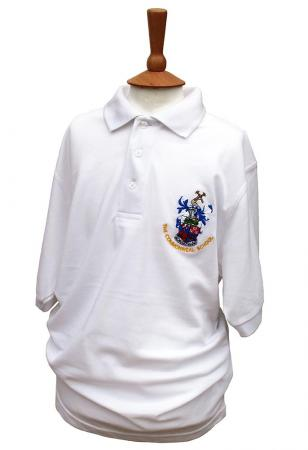 Commonweal Boys Summer White Polo Shirt