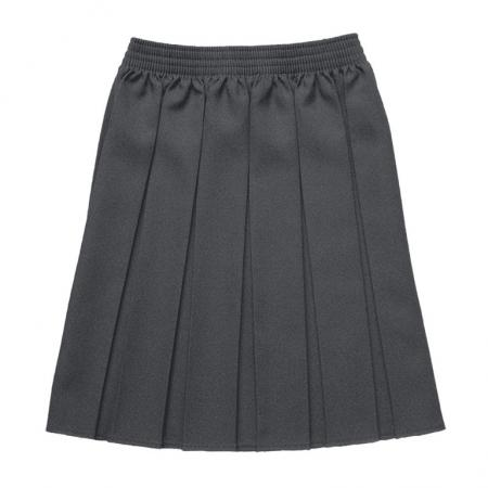 Zeco GS3002 Box Pleat Grey Skirt