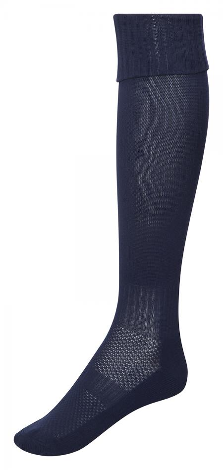 Monkhouse Plain Navy Games Socks