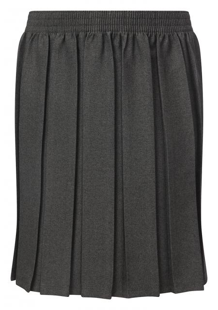 Winterbottom Girls Junior Box Pleat Grey Skirt