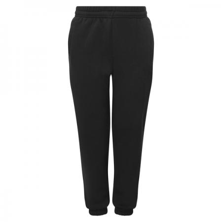 Woodbank Black Jogging Bottoms