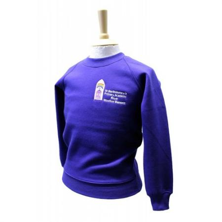 St Bartholomews (Swindon) Crew Neck Sweatshirt