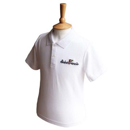 St Francis White Polo Shirt
